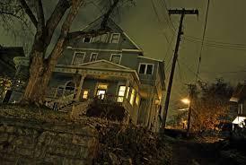 Mörkt hus